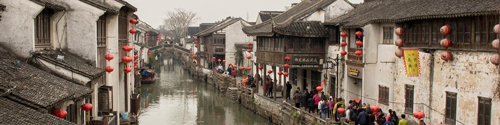 Suzhou - Het Venetië van het Oosten